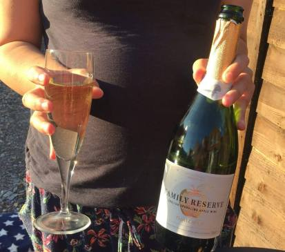 This Summer I'll be Celebrating the birth of my baby girl with friends, family and a bottle of Thatchers Family Reserve Sparkling Apple Wine