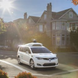 Waymo, The First Set of Self-driving Minivans from Google just made Their Appearance