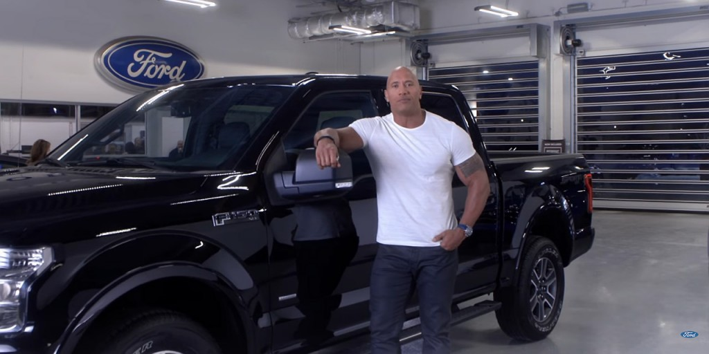 """Did """"The Rock"""" Dwayne Johnson Accidently Reveal the New Look of Ford Mustang Bullitt?"""