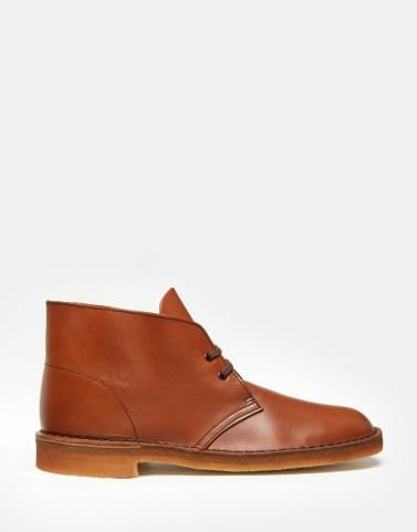 Leather Desert Boots - Clarks Original - £99