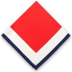 Multi Square Pocket Square - £10