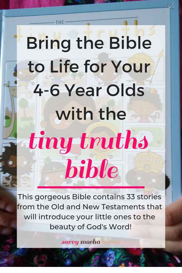 Introduce your little ones to the Bible with Tiny Truths! This beautiful children's Bible is wonderfully illustrated with diverse depictions of Bible characters and the content of the stories is condensed to the core principles of the Christian faith using age appropriate language. You'll want to read this Bible over and over again during your family devotions!