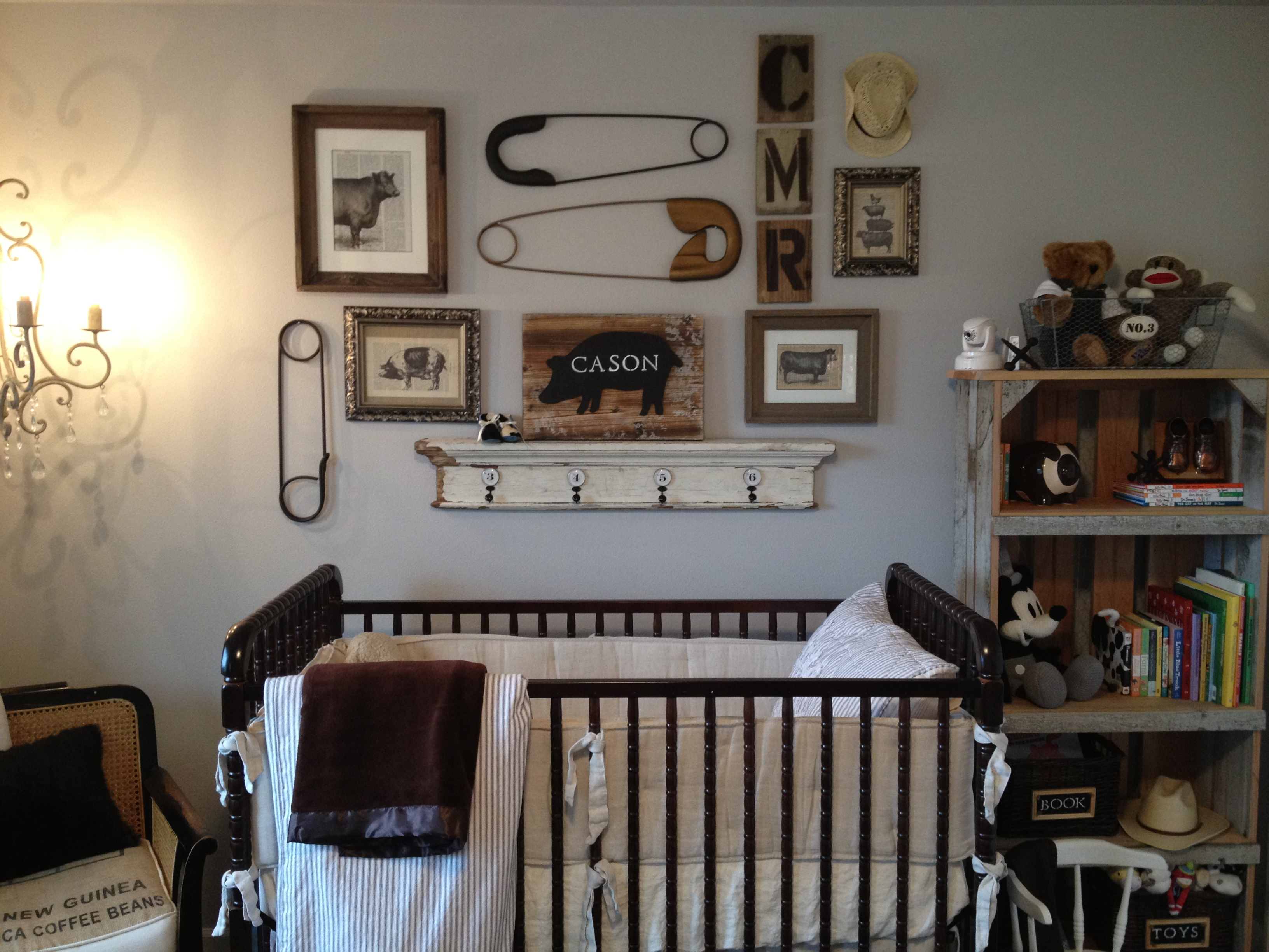 Vintage Farm Animal Nursery