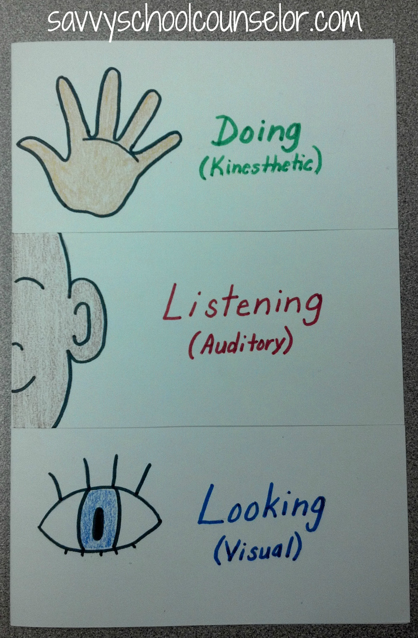 The 3 Learning Styles