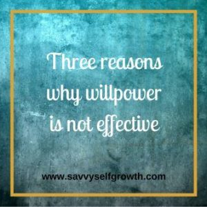 Will Power is not effective