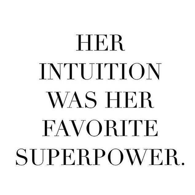 Is intuition your superpower? • Savvy Shopkeeper