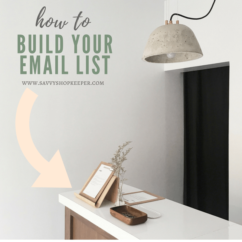 Start Building Your Own Email List… it's GOLD
