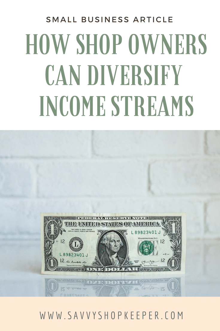 Diversify Income Streams Pinterest Graphic