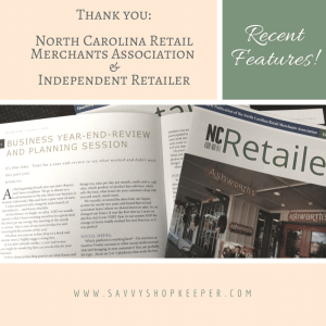 Recently Featured:  Independent Retailer and North Carolina Retail Merchants Association