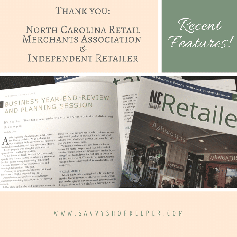 North Carolina Merchants Association and Independent Retailer