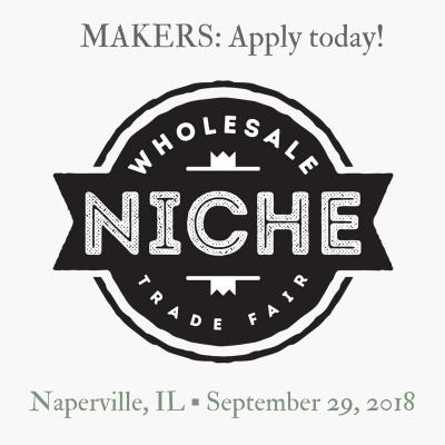 Niche Fair for Makers - Naperville September 29, 2018