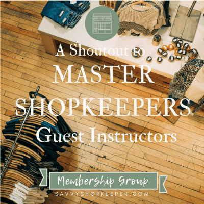 Master Shopkeepers Guest Instructors