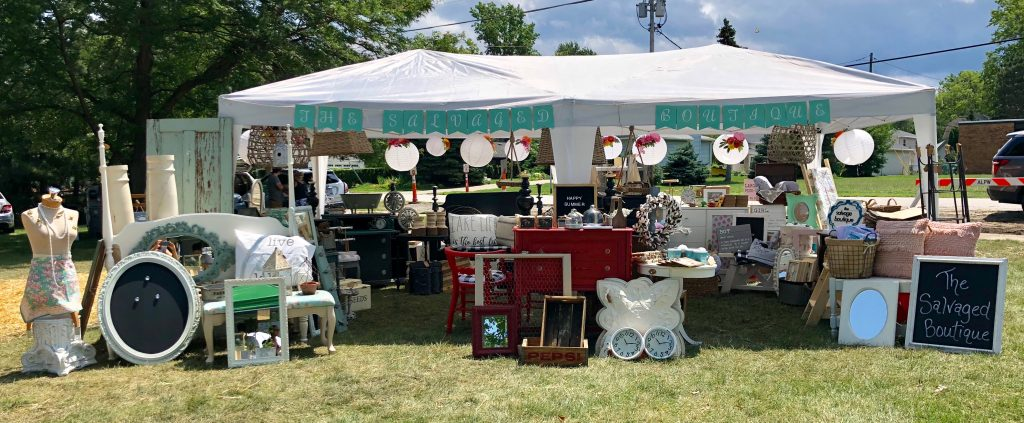 The Summer Market The Salvaged Boutique 2018 Booth