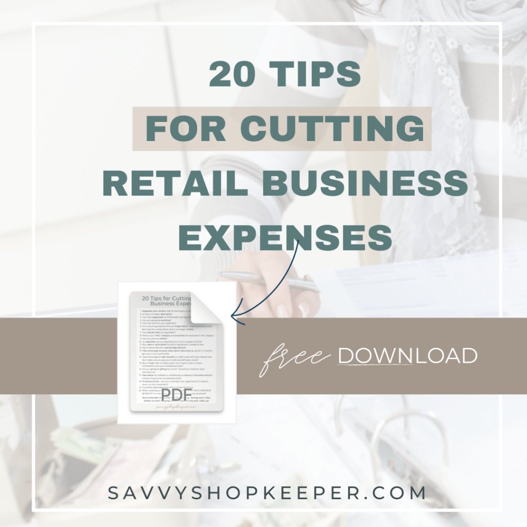 Tips for Cutting Retail Business Expenses
