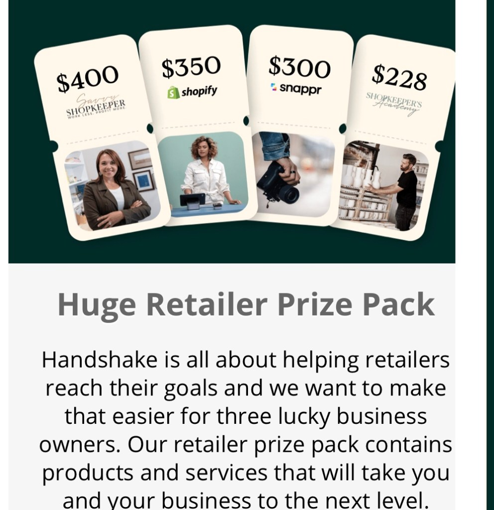 Who Is Shopify Handshake For?  {Plus a Giveaway!}
