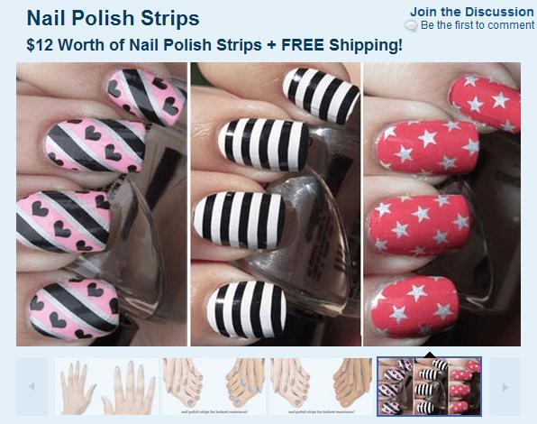SaveMore: FREE Nail Polish Strips + FREE Shipping! – Savvy Wife ...