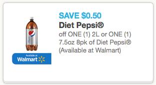 50 off diet pepsi