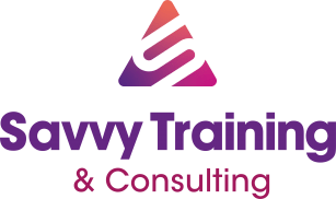 Savvy training & consulting logo full color