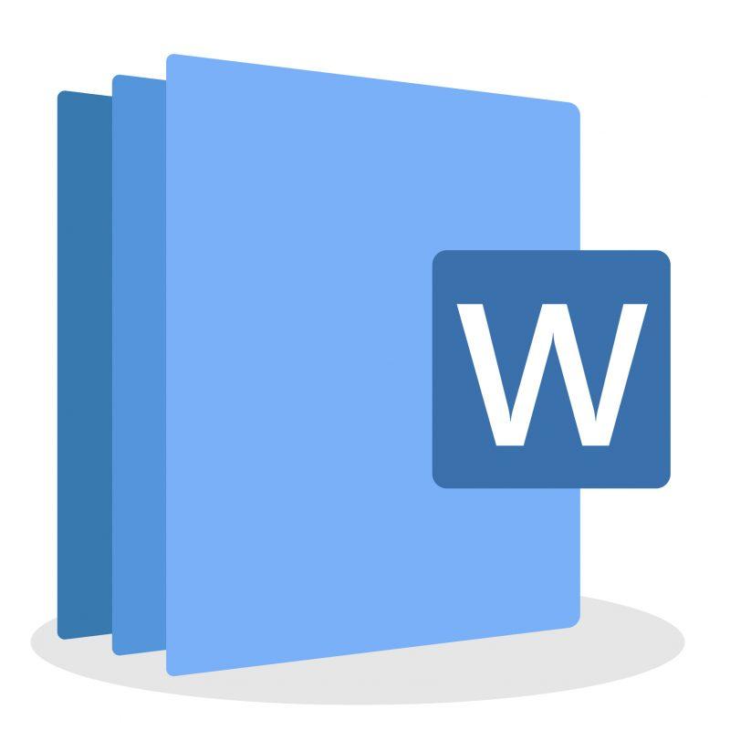 Microsoft Word training image