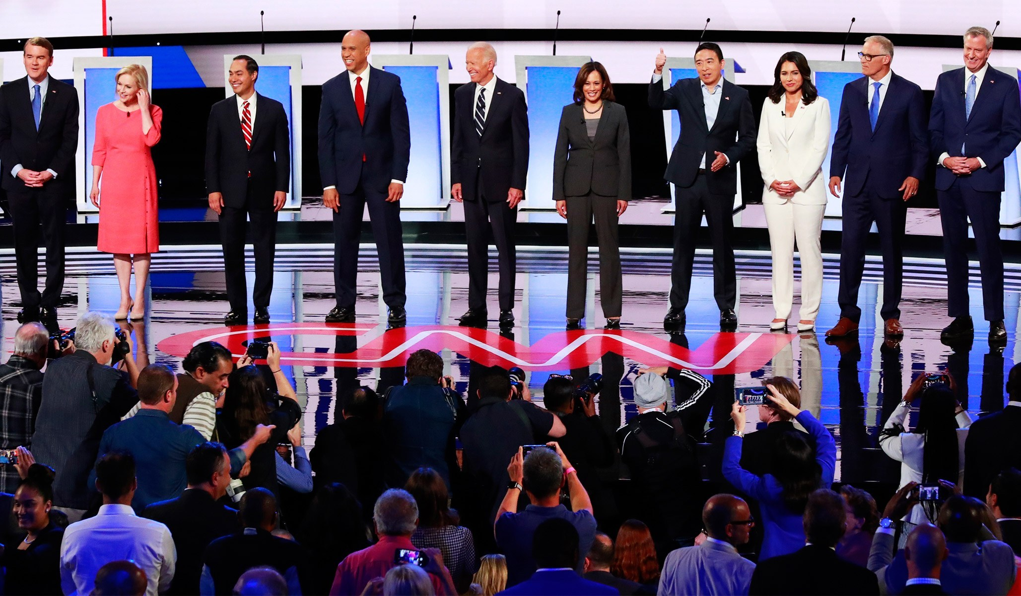 Democratic Debate Debrief Round 2: Biden Bombed and Harris