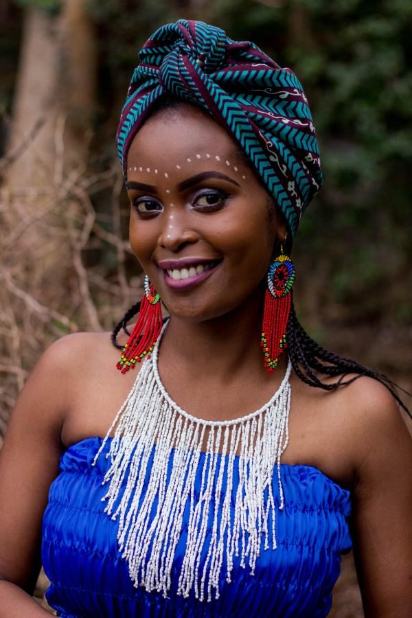 sawa sawa collection cascading tassel necklace