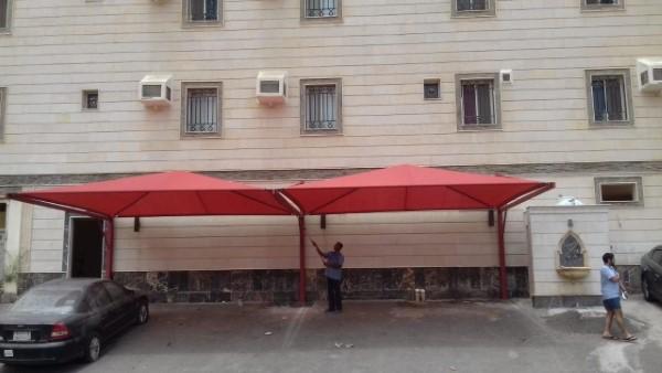 تركيب مظلات سيارات في الرياض