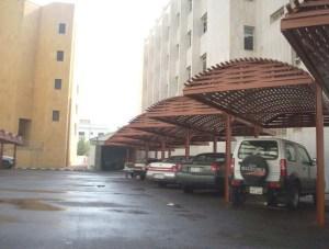 مظلات سيارات خشب احدث التصاميم وبأفضل الأسعار