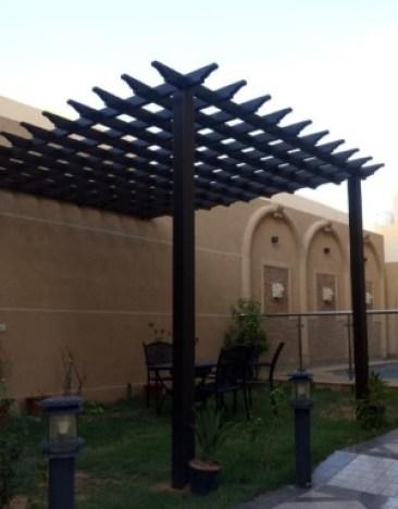 مظلات خشبية تركيب برجولات حدائق في الرياض 0535553929