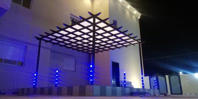 عمل مظلات سواتر شرق الرياض