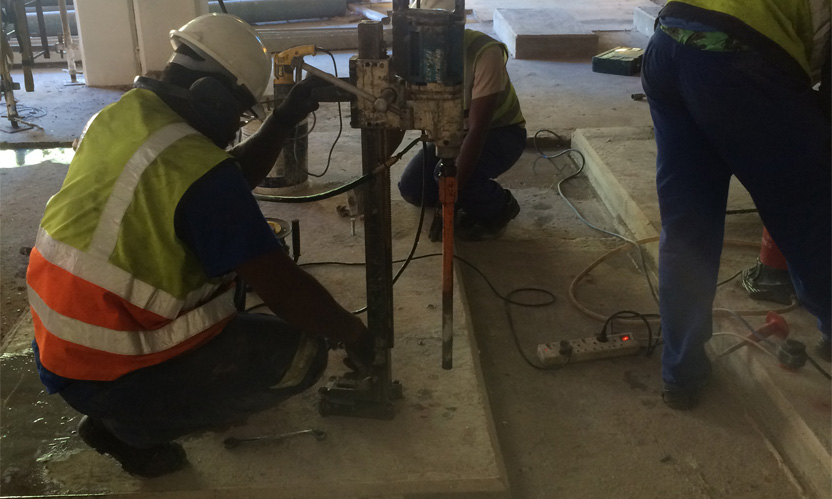 Concrete Core Drilling Services