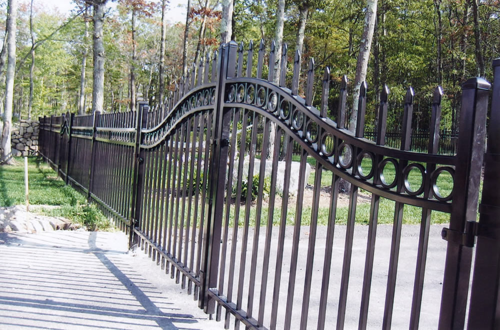 Iron Fence Screen Wrought