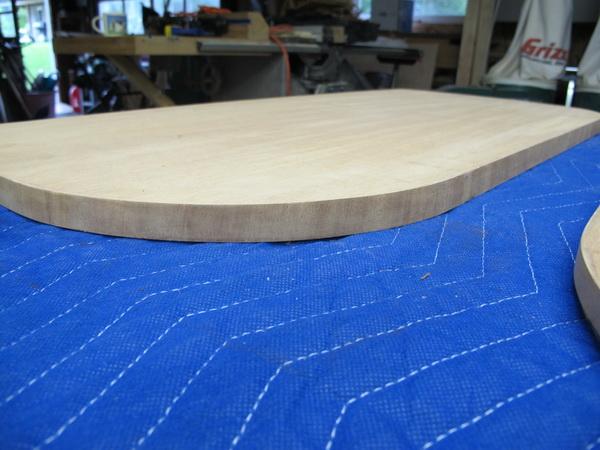 Veneer edge applied