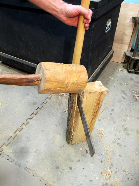 Making a Bench Mallet