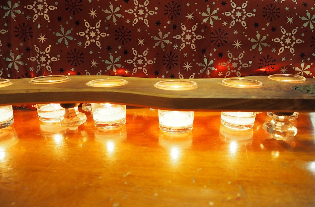 Rustic Votive Holders