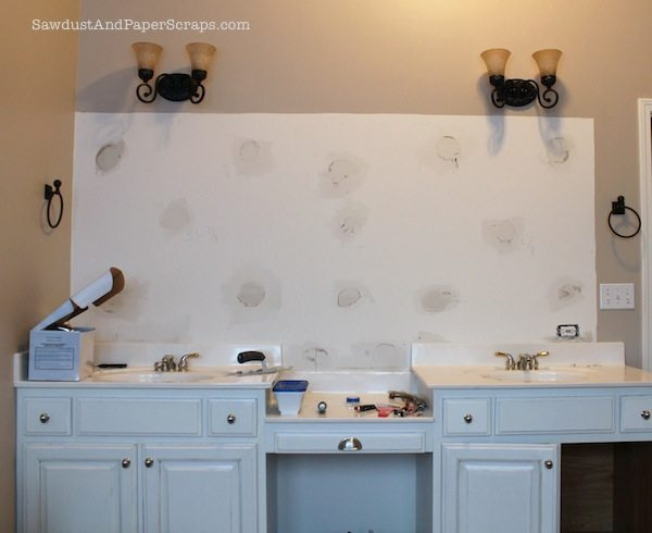 patch drywall