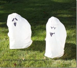 trash bag ghosts