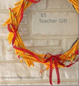 pencil wreath