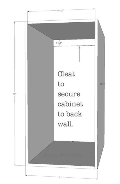 Pullout storage cabinet