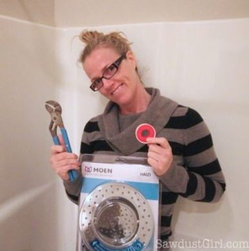 Shower head installation - it's easier than you think!