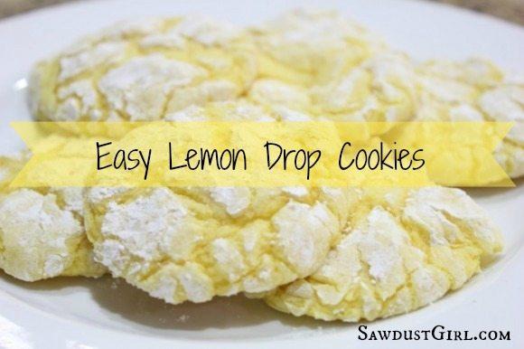 Lemon Drop Cookie Recipe