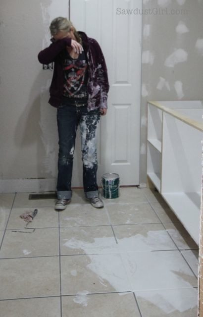 Painting blunder