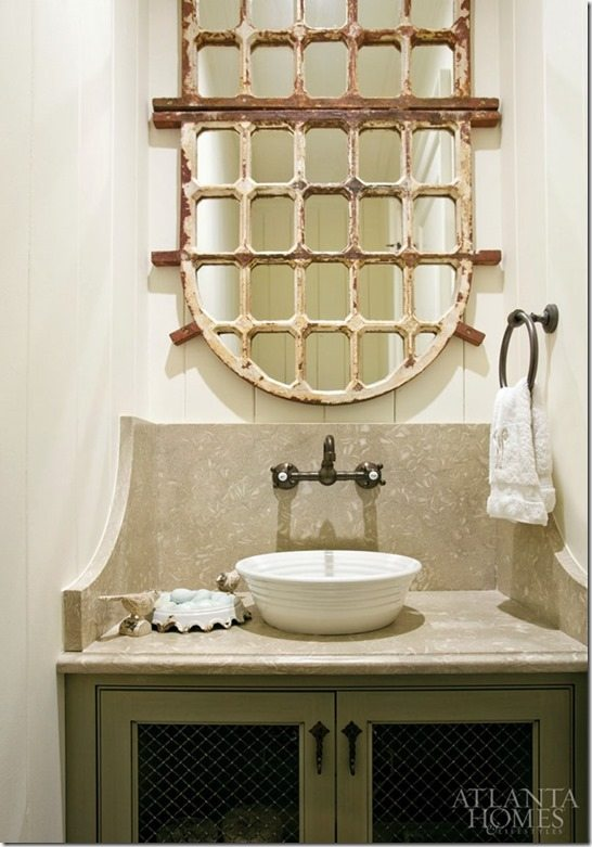 Mirror ideas for the powder room