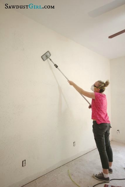 How to get rid of ugly wall texture - Skim Coating