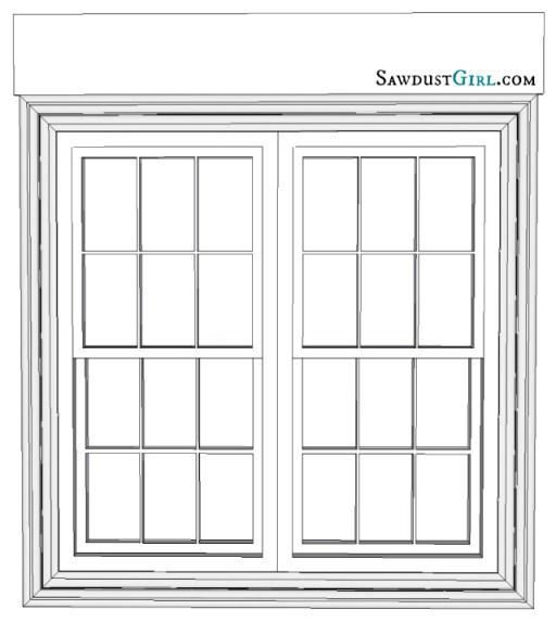 Adding a window pediment