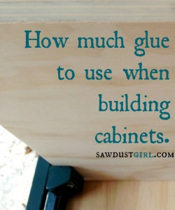 how much glue is enough - sawdustgirl.com