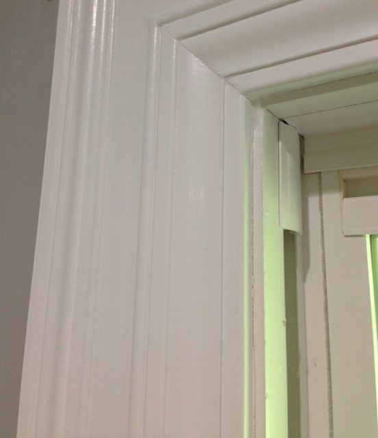 door and window trim molding by layering