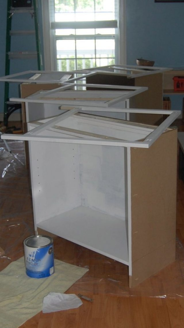 Painting Base Cabinets
