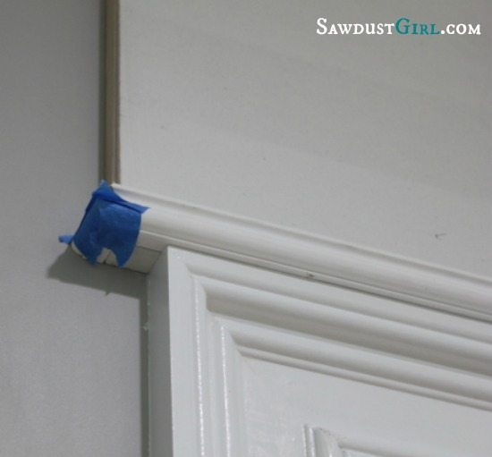 installing a return on trim molding