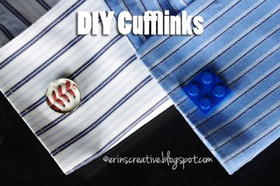 diy cufflinks