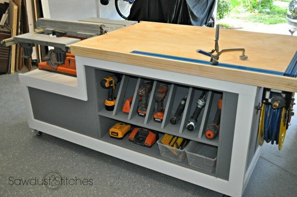 Ultimate workshop assembly table